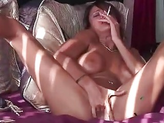 Kinky babe teases and begs for hardcore sex in bed