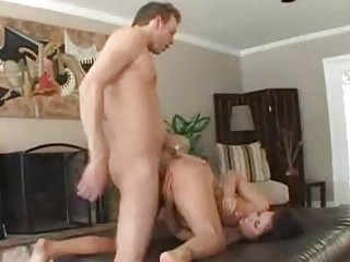 Cock sucking and riding like a true busty slut