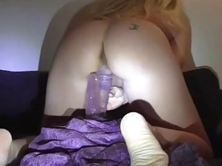 She loves to bend over and ride her dildo