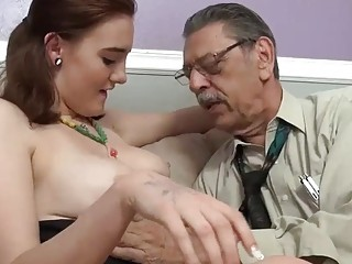 She wants granddaddy to cum deep inside