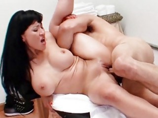 Desirable Asian gets rammed by a rock-solid pecker