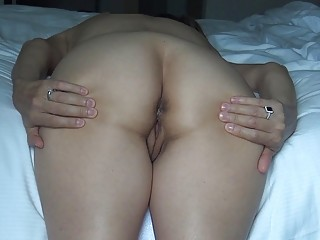 Horny naked amateur fucks hard in a nasty homemade video