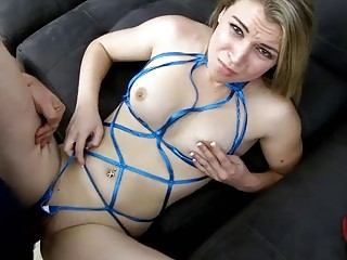 Young nasty babes in slutty provoking lingerie fuck only hardcore